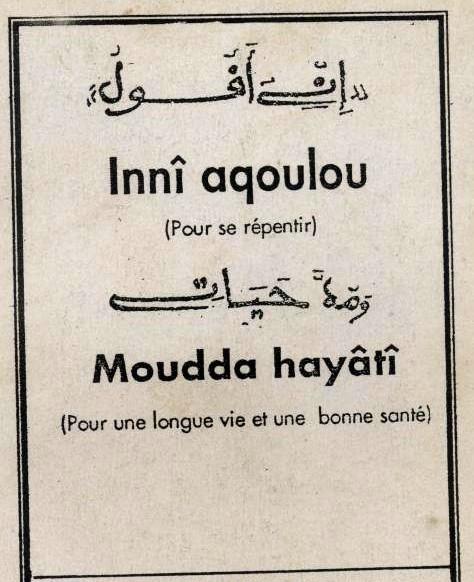 Inni aqkholou et Mouda khayati (2)